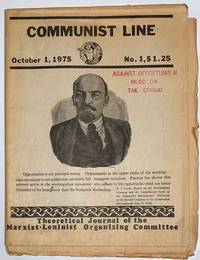 image of Communist line, theoretical journal of the Marxist-Leninist Organizing Committee. October 1, 1975, no. 1