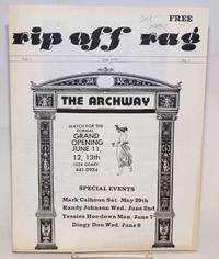 image of Rip Off Rag: San Francisco's camp newspaper, vol. 1, no. 1, June 1976