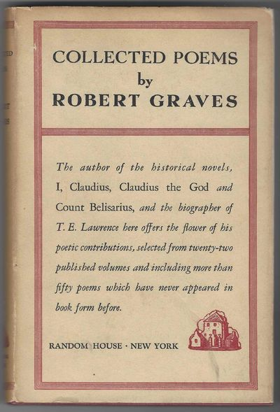 Random House. First Edition. Hardcover. Good/Good. B001TYQAFU 1938 First American Edition, Dust Jack...