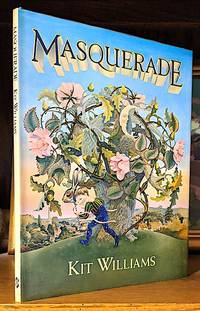 image of Masquerade. -- Within the pages of this book there is a story told of love, adventures, fortunes lost, and a jewel of solid gold. To solve the hidden riddle, you must use your eyes, and find the hare in every picture that may point you to the prize