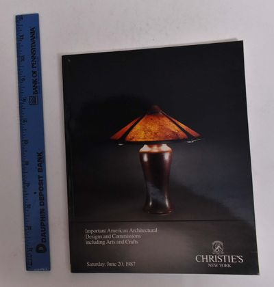New York: Christie's, 1987. Softcover. VG-. General shelf wear, clean and tight.. Black and color-il...