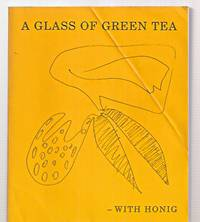 image of A GLASS OF GREEN TEA --- WITH HONIG