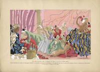 Une fete nocturne chez le Marquis de Sade, a la fin du XVIII siecle