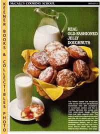 image of McCall's Cooking School Recipe Card: Breads 10 - Jelly Doughnuts :  Replacement McCall's Recipage or Recipe Card For 3-Ring Binders : McCall's  Cooking School Cookbook Series
