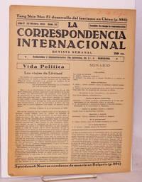 image of La correspondencia internacional; revista semanal, año V, num. 55, 22 Dicbre. 1933