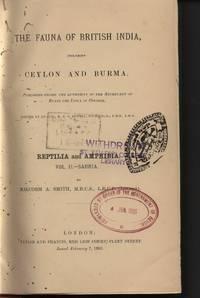 image of The Fauna of British India Including Ceylon and Burma. Reptilia and Amphibia Volume II.-Sauria