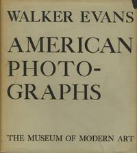 AMERICAN PHOTOGRAPHS.; Afterwords by Lincoln Kirstein