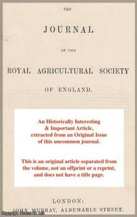 Report of the Consulting Chemists for 1889 and 1890. A rare original article from the Journal of...