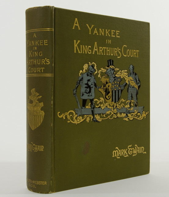 the politics in the novel a connecticut yankee in king arthurs court by mark twain A connecticut yankee is mark twain's most mark twain characterized his novel as one vast a connecticut yankee in king arthur's court is a superb book.