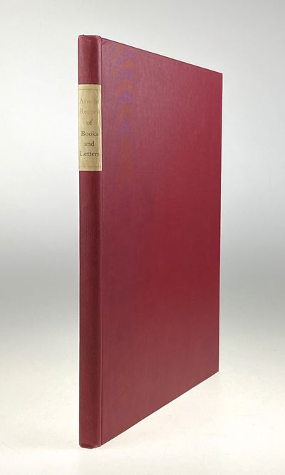 Jamaica, Queensborough: Marion Press, 1901. First edition. First edition. Original red cloth with pr...