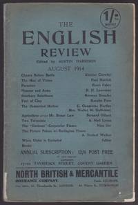 "The English Review, August 1914 (Includes ""Chants Before Battle"" by Aleister Crowley, and the First Publication of ""The Prussian Officer"" by D. H. Lawrence) by  et al  Kenelm Foss - Paperback - First Edition, First Printing - 1914 - from GatesPastBooks (SKU: 930880)"