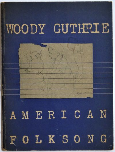 New York: Moe Asch, DISC Company of America, 1947. 48 pp. Illustrations by Woody Guthrie and York Cu...
