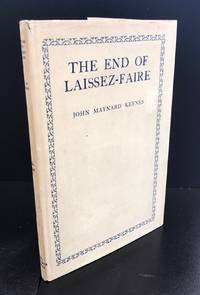 The End Of Laissez-Faire : With The Scarce Original Wrapper In Exceptional Condition