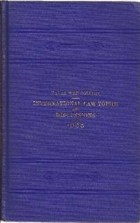 image of International Law Topics and Discussions 1905