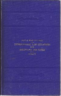 image of International Law Situations with Solutions and Notes 1907
