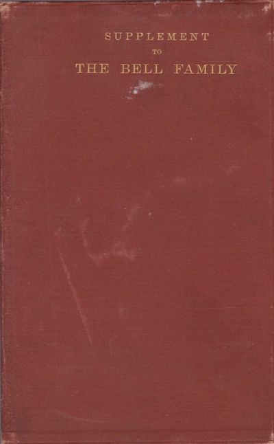 Washington DC: Gibson Bros, Printer and Bookbinders, 1897. First Edition. Soft cover. Good. Thin 12m...
