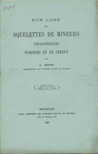 Bruxelles: Hayez, Imprimeur des Académies Royales de Belgique, 1907. Offprint. Paper wrappers. A ve...
