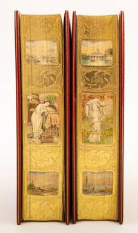 (BINDINGS - FAZAKERLEY).  (FORE-EDGE PAINTINGS).  PRE-RAPHAELITISM AND THE PRE-RAPHAELITE BROTHERHOOD The Definitive History of the Pre-Raphaelite Brotherhood by one of its Founders, in Striking, Immaculate Fazakerley Bindings Featuring Six Small Paintings on the Fore Edges