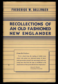 Recollections of an Old Fashioned New Englander
