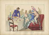En Cabinet Particulier: Un joyeau souper d'etudiants et de grisettes en 1830