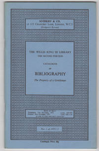 The Willis King III Library. The Second Portion [only]