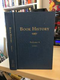 image of Book History. Volume 4, 2001