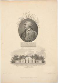 """image of """"Sir John Hill, M. D. Knight of the Polar Star.  First Superintendant of the Royal Gardens at Kew"""".  Engraved portrait"""