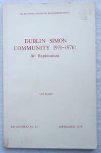 Dublin Simon Community 1971-1976: An Exploration