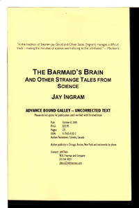 THE BARMAID'S BRAIN and Other Strange Tales from Science.