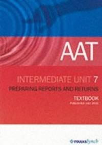 image of AAT NVQ: Unit 7 (Aat Textbooks)