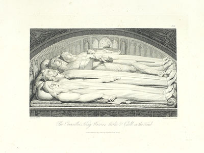 Single plate. London: Cadell and Davies, 1808. Single plate, etching on wove unwatermarked paper, cl...