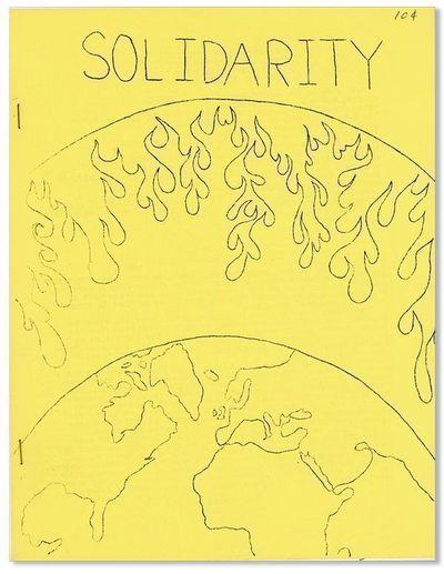 New Westminster, B.C.: Solidarity Press, n.d., ca. 1969. First Edition. Quarto (27.75cm.); original ...