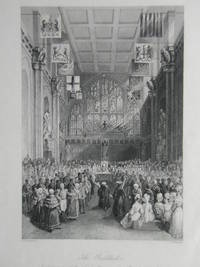 The Guildhall. Installation of the Lord Mayor on the 8th of November. by Engraving - from N. G. Lawrie Books. (SKU: 22545)