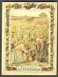 image of Septembre Les Vendanges, trade card