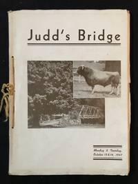 "image of ""Judd's Bridge"" - Cattle Auction Catalog 1947"