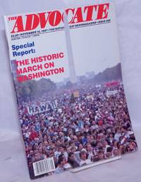 image of The Advocate: gay newsmagazine; #485, November 10, 1987: Special Report: the historic March on Washington