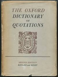image of The Oxford Dictionary of Quotations