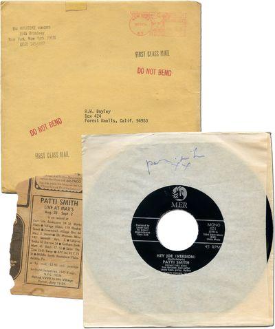 : Mer Records, 1974. Hardcover. Fine. Original 7