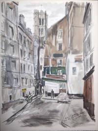 Surprenants visages de Paris, aquarelles de Gaston Barret