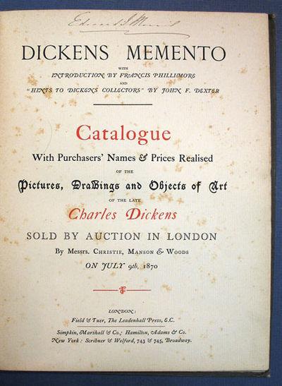 London: Field & Tuer, The Leadenhall Press, 1884. 1st editon. Brown cloth binding. Good only (cloth ...