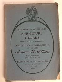 American And English Furniture Clocks Including Willard Timepieces And Rare Specimens From The Wetherfield Collection