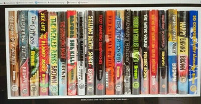 Complete Set of Fredric Brown in the...