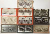 [Group of Ten Stereoviews Depicting Scenes from the Alaska Gold Rush]