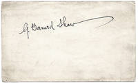 George Bernard Shaw Autograph on a Plain Postcard
