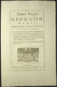 image of An Act for Reducing the Number of Directors of the Corporation of the Governor and Company of Merchants of Great Britain Trading to the South Seas, and other Parts of America; and for Encouraging the Fishery