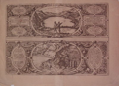 Cologne: Braun & Hogenberg. unbound. very good. View. Uncolored engraving. Image measures 12.75