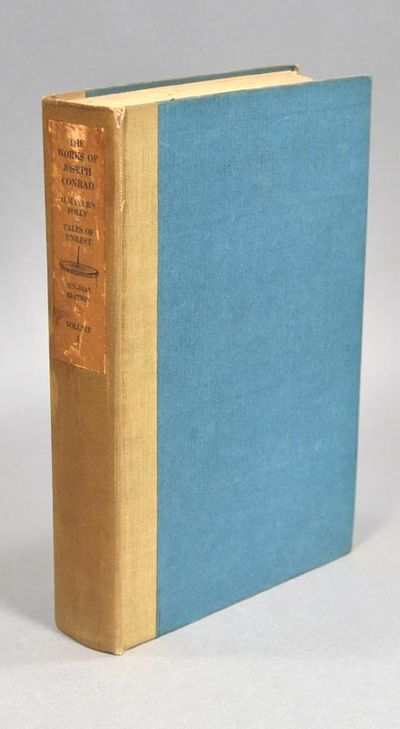 1920. CONRAD, Joseph. ALMAYER'S FOLLY: A STORY OF AN EASTERN RIVER/TALES OF UNREST. Garden City, NY:...