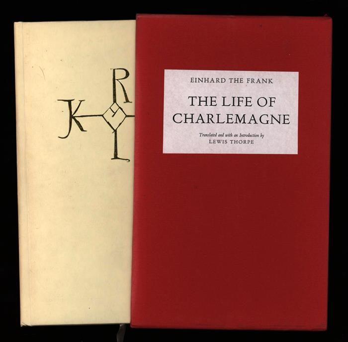 einhard s life charlemagne A quick description of charlemagne's life provided by einhard.