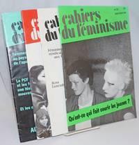 Cahiers du Feminisme [4 issues]