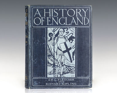 Oxford: The Clarendon Press, 1911. First edition of Kipling and Fletcher's history of Great Britain ...
